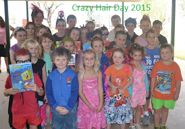 Crazy Hair Day 2015